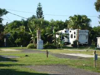 RV lots at Breezeway