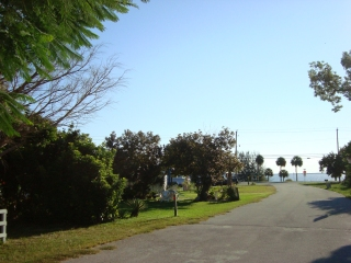 Street view towards Indian River